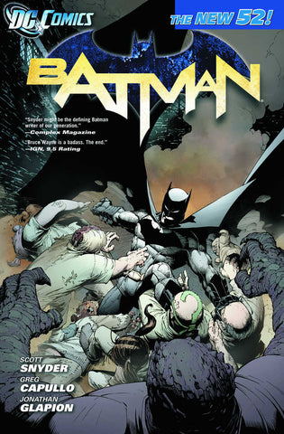 BATMAN TP VOL 1 THE COURT OF OWLS (N52)