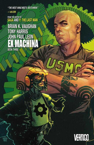 EX MACHINA TP BOOK 3