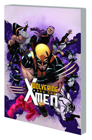 WOLVERINE AND X-MEN TP VOL 1 TOMORROW NEVER LEAVES