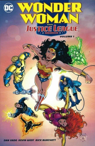 WONDER WOMAN & THE JUSTICE LEAGUE AMERICA TP VOL 1