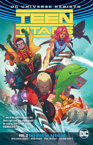 TEEN TITANS TP VOL 2 THE RISE OF AQUALAD REBIRTH