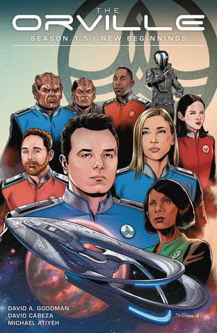 ORVILLE SEASON 1.5 TP VOL 1 NEW BEGINNINGS
