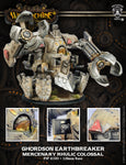 Warmachine: Mercenaries Ghordson Earthbreaker Rhulic Colossal (Resin and White Metal)