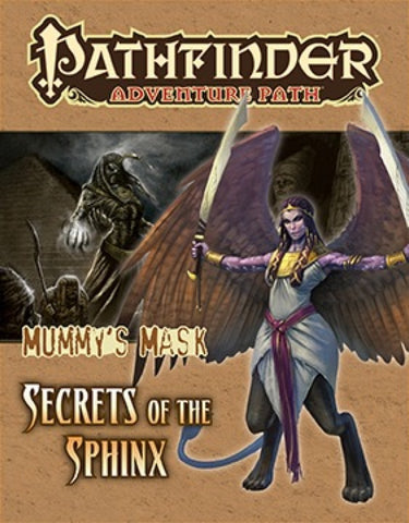 Pathfinder RPG: Adventure Path - The Mummy`s Mask Part 4 - Secrets of the Sphinx
