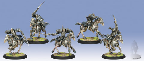 Warmachine: Cryx Bane Riders Cavalry Unit (Plastic)