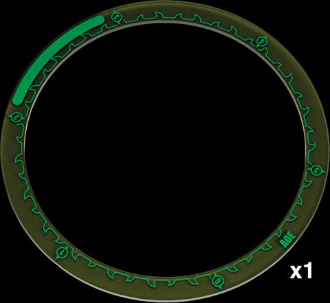Hordes: Area of Effect Ring Markers 5in