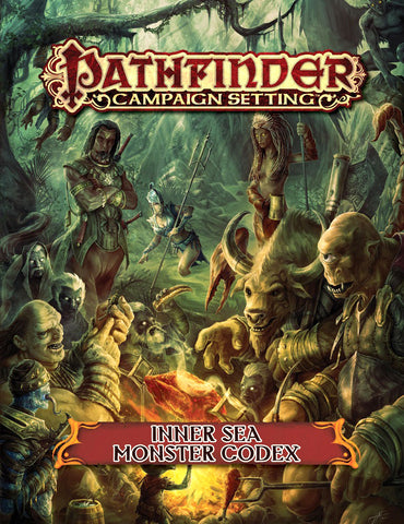 Pathfinder RPG: Campaign Setting - Inner Sea Monster Codex