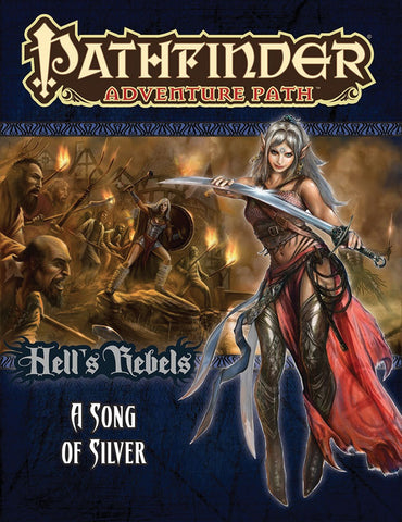 Pathfinder RPG: Adventure Path - Hell`s Rebels Part 4 - A Song of Silver