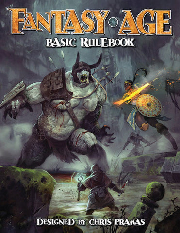 Fantasy AGE RPG: Basic Rulebook Roleplaying Game Hardcover
