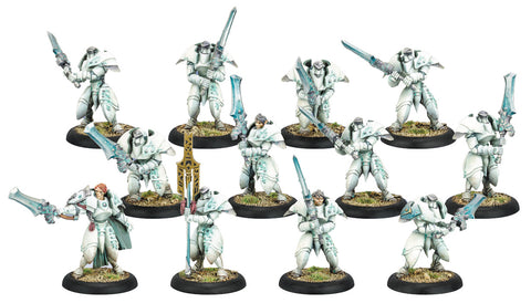 Warmachine: Retribution of Scyrah Dawnguard Sentinels Unit (12) (Plastic)