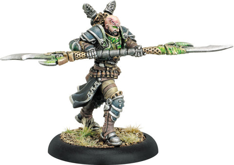 Warmachine: Cryx Sturgis the Corrupted Epic Warcaster (White Metal)