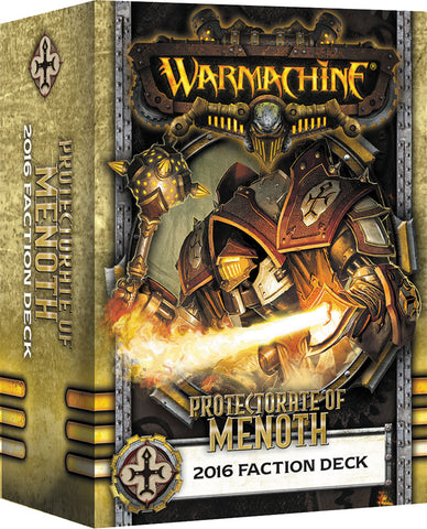 Warmachine: Protectorate of Menoth 2016 Faction Deck