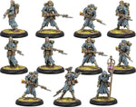 Hordes: Grymkin Hollowmen & Lantern Man Unit (Plastic)