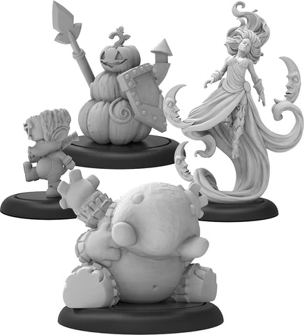 Hordes: Grymkin The Dreamer & Phantasms Warlock (Resin and White Metal)