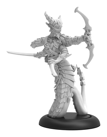 Hordes: Legion of Everblight Craelix Fang of Everblight Solo (White Metal)