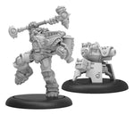 Warmachine: Cygnar Colonel Markus Siege Brisbane Warcaster (Resin/White Metal)