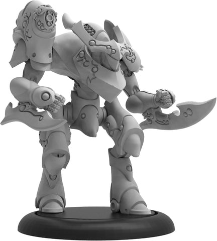 Warmachine: Retribution of Scyrah Siren Light Warjack (Resin/White Metal)