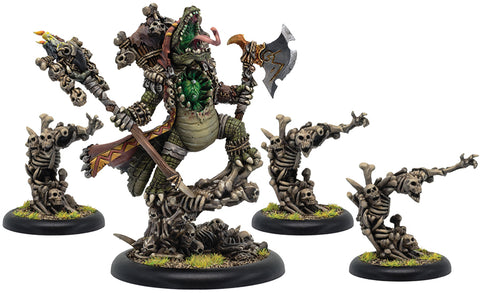 Hordes: Minions Barnabas Lord of Blood Epic Warlock Unit (4) (Resin/White Metal)