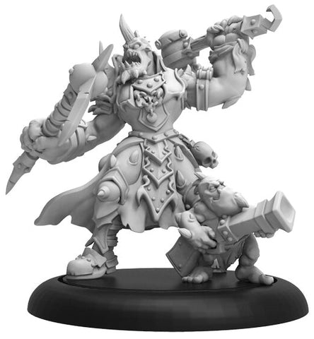 Warmachine: Cryx Jussika Bloodtongue - Character Command Attachment (Resin and White Metal)