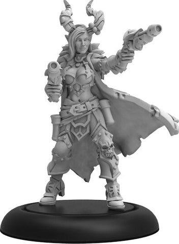 Warmachine: Cryx Severa Blacktide Character Solo (White Metal)
