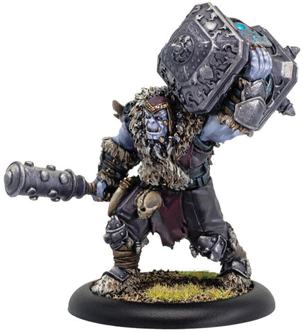 Hordes: Legion of Everblight Ammok the Truthbearer Blighted Ogrun Character Solo (Resin and White Metal)