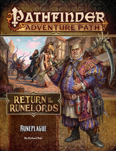 Pathfinder RPG: Adventure Path - Return of the Runelords Part 3 - Runeplague
