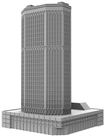 Monsterpocalypse: Corporate HQ Building (Resin)