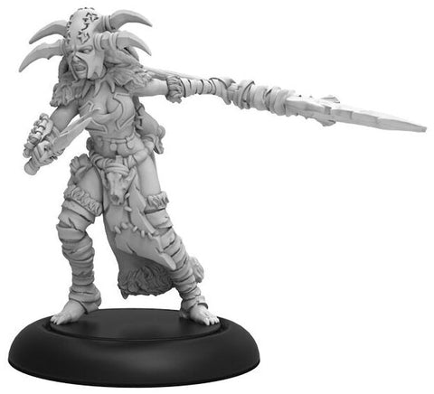 Hordes: Circle of Orboros Tharn Blood Shaman Warcaster Attachment (Resin and White Metal)