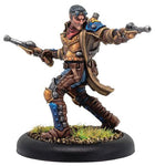 Warmachine: Cygnar Journeyman Lieutenant Allister Caine Solo (Resin and White Metal)