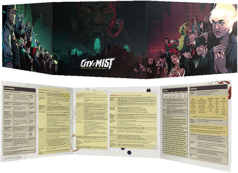 City of Mist RPG: Master of Ceremonies Screen