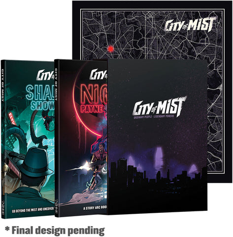 City of Mist RPG: Premium Boxed Set