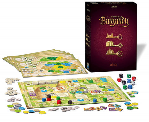 The Castles of Burgundy 20 th Anniversary Edition (ALEA)