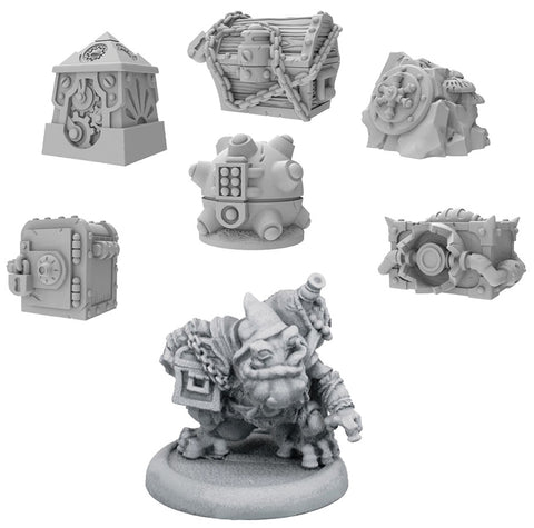 Riot Quest: Treasure Pack & Flugwug the Filcher Treasure Chest Expansion (Resin and White Metal)