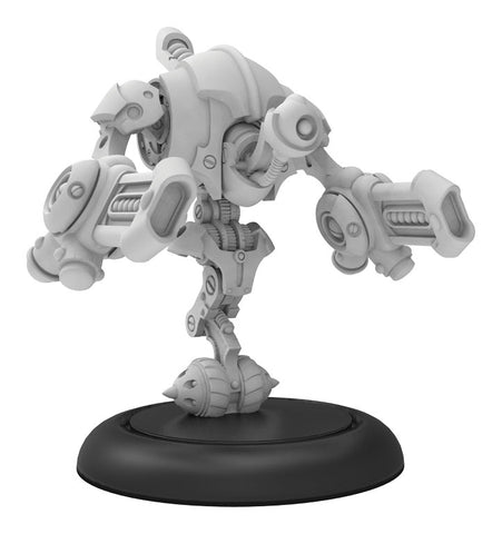Riot Quest: Destructotron Gunner (Resin and White Metal)