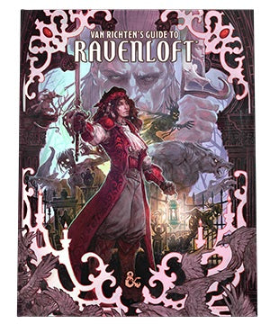 Dungeons and Dragons RPG: Van Richten`s Guide to Ravenloft Hard Cover - Alternate Cover