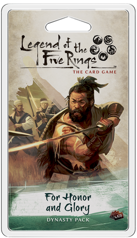 L5R LCG: For Honor and Glory Dynasty Pack