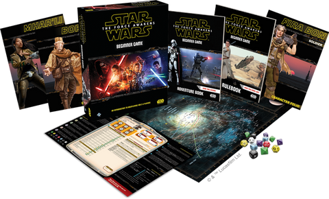 Sw Rpg: The Force Awakens - Beginner Game