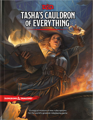 Dungeons And Dragons 5E: Tasha'S Cauldron Of Everything (Standard Cover)