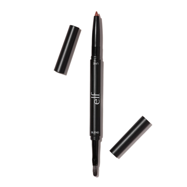 lip liner and blending brush