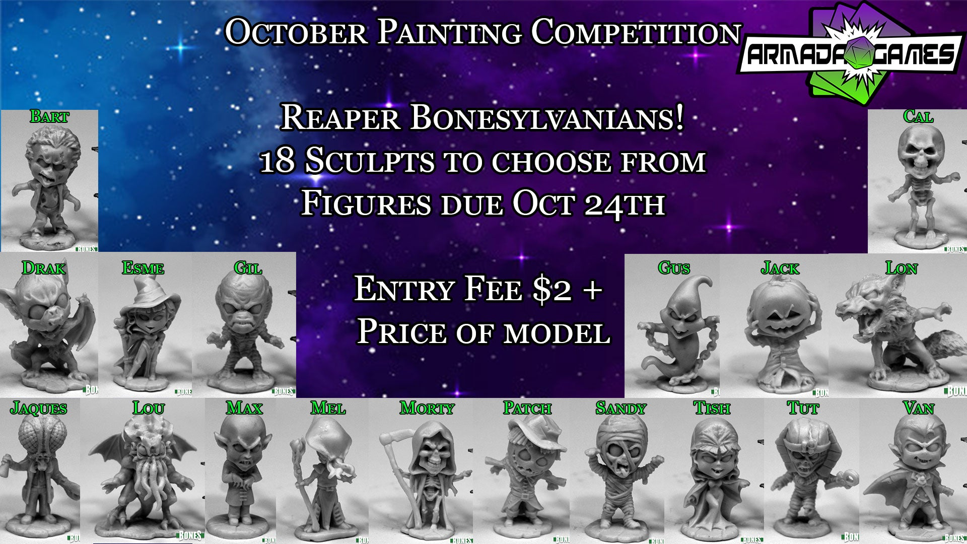 October Painting Competition - Bonesylvanians