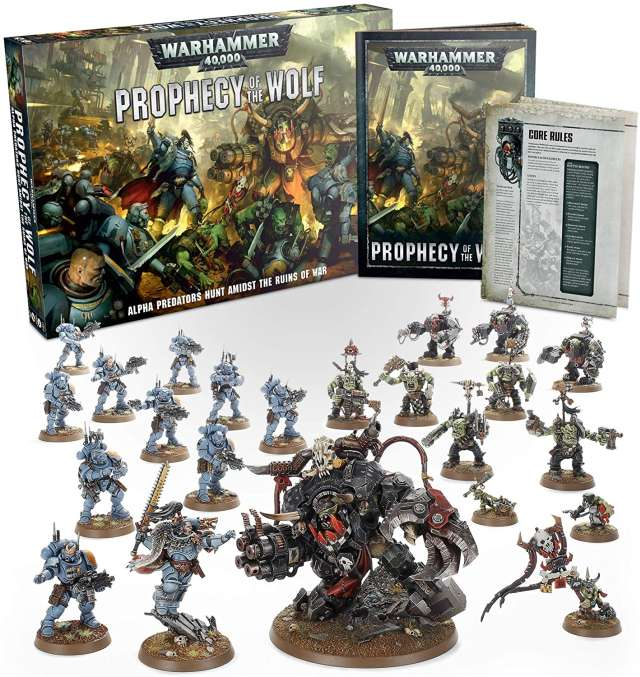 Warhammer 40k Prophecy of the Wolf