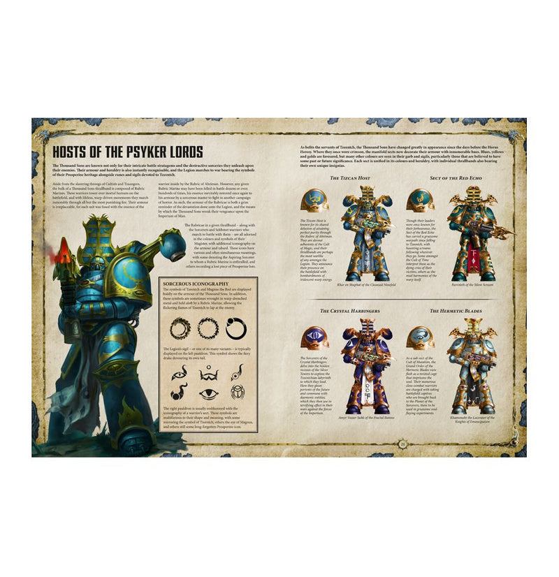 Codex: Thousand Sons 8th Edition