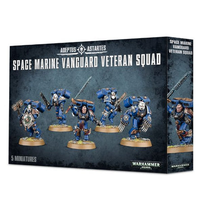 Space Marines Vanguard Veteran Squad