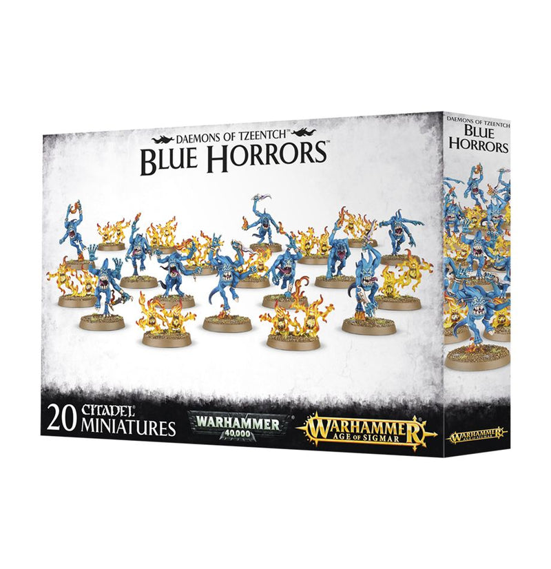 Disciples of Tzeentch Blue Horrors & Brimstone Horrors
