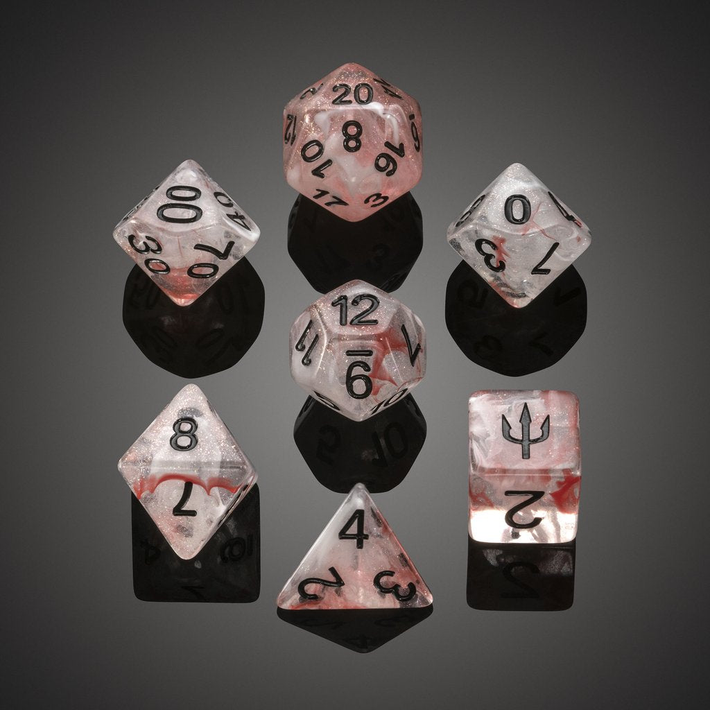 'Spirit of' Atlantis - Dangerous Waters Polyhedral Dice