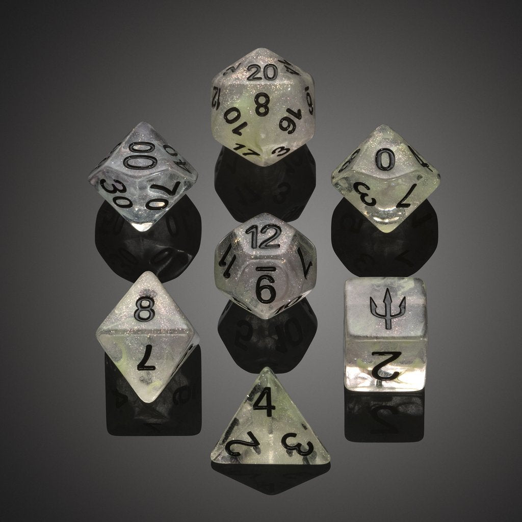 'Spirit of' Atlantis - Kelp Forest Polyhedral Dice