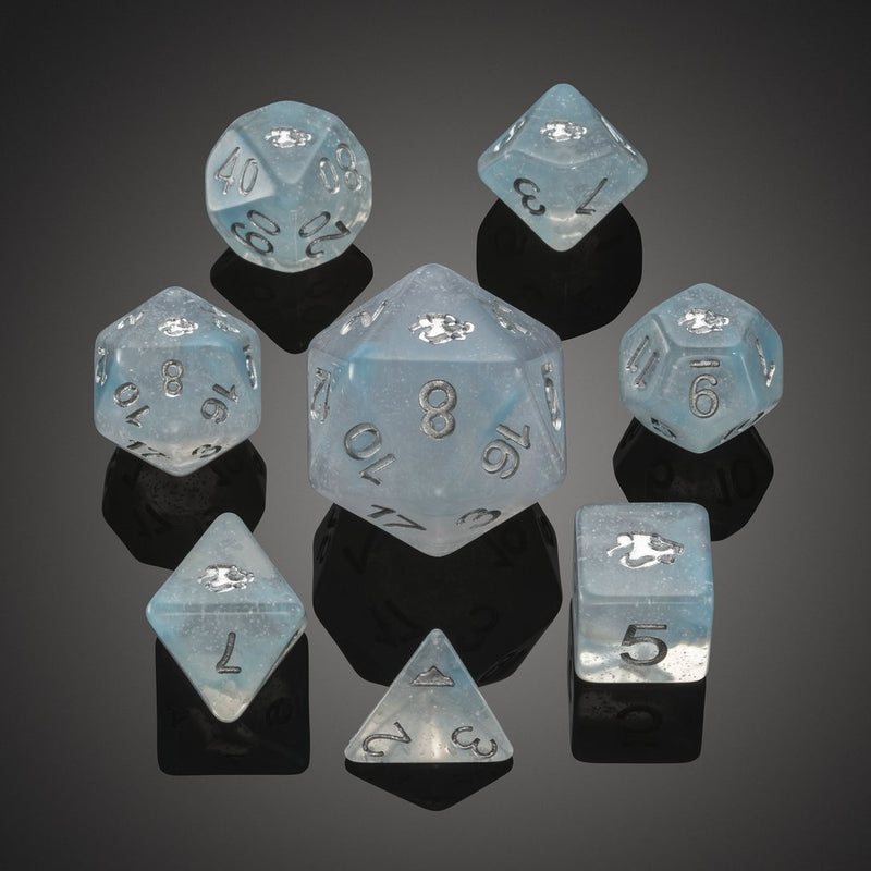'Spirit of' Arctic - Polar Bear Polyhedral Dice