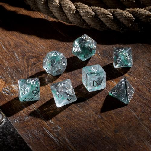 'Spirit of' Atlantis - Hidden Depth Polyhedral Dice