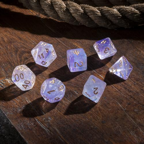 'Spirit of' Atlantis - Twilight Tides Polyhedral Dice