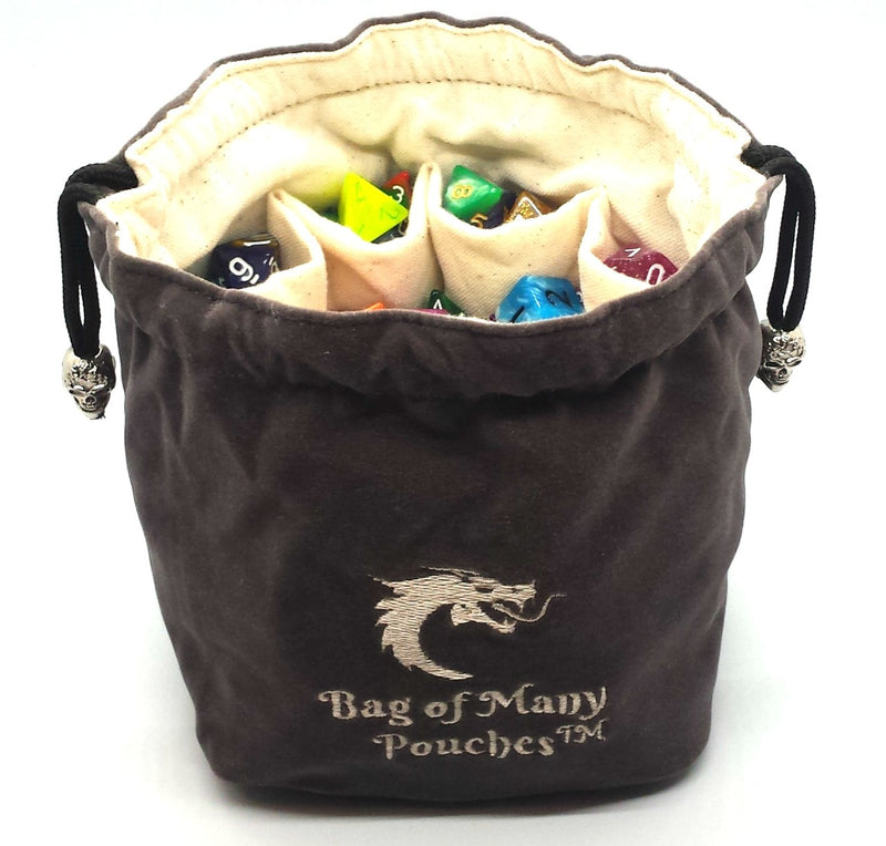 Bag of Many Pouches: Grey